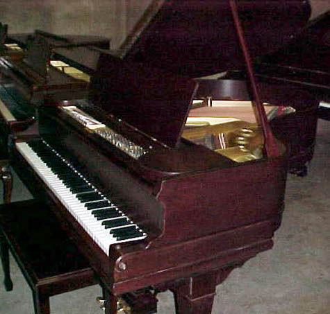 A schomacker 5 39 2 for Baby grand piano height
