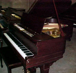 A Schomacker Grand Piano